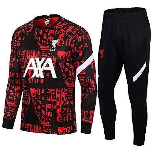 zhaojiexiaodian Traje de fútbol de manga larga para primavera y otoño, camiseta deportiva para adultos Imagen 5. S