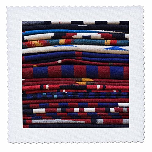 3dRose New Mexico, Gallup, Handmade Navajo Rugs, Textile-US32 RTI0048-Rob Tilley-Quilt Square, 18 by 18-Inch