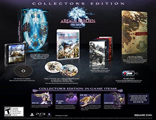 Final Fantasy XIV: A Realm Reborn Collector's Edition - Playstation 3