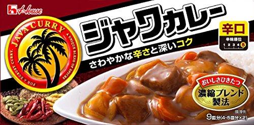 ハウス食品『ジャワカレー 辛口』