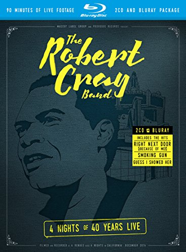 The Robert Cray Band - 4 Nights Of 40 Year Live  (+ 2 CDs) [Blu-ray]