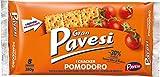 Gran Pavesi Cracker al Pomodoro, Senza Olio di Palma, 8 pacchetti, 280g
