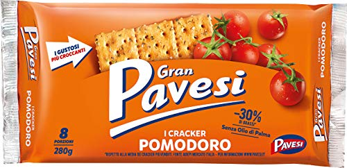 Pavesi Cracker al Pomodoro, senza Olio di Palma, 280g