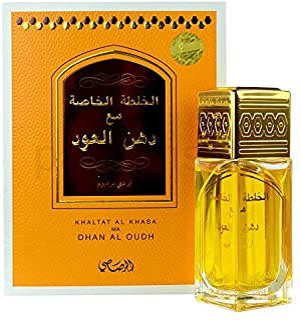 Khaltat Al Khasa Ma Dhan Al Oudh for Men and Women (Unisex) EDP - Eau De Parfum 50 ML (1.7 oz) | Oriental Perfumery | Fres...