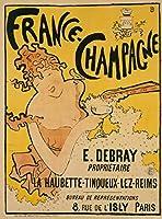 Pierre Bonnard ジクレープリント アート紙 アートワーク 画像 ポスター 複製(フランスのポスターシャンパン) #XZZ