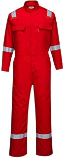 d9ad0d45f552 Portwest Bizflame 88 12 Iona Coverall Flame Resistant Overall Work  Protection Retardent ASTM NFPA ARC