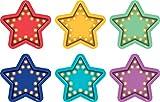 Teacher Created Resources Marquee Stars Spot On Vinyl Floor Markers...