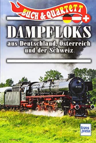 Dampfloks aus Deutschland, Österreich und Schweiz (Quartett)