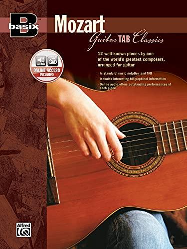 Basix Mozart Guitar Tab Classics