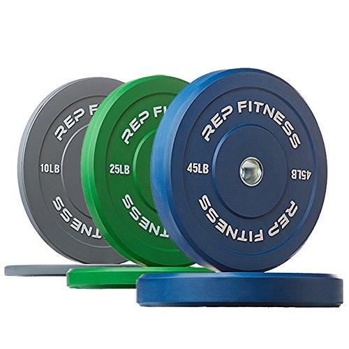 Rep Fitness Colored Bumper Plates