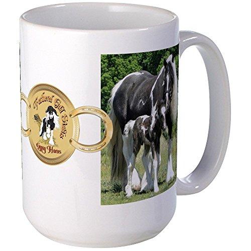 CafePress - Kaffeetasse mit Facebook-Bild-Motiv 2012, groß, 425 ml, Weiß