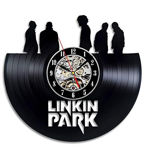 Reloj Mural Reloj de Pared Grande Parque Moda Video Record Reloj de...
