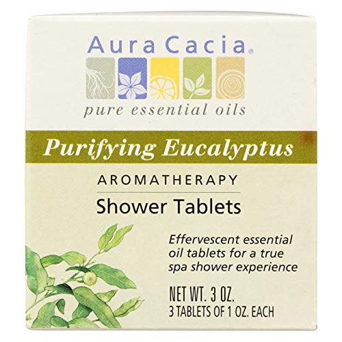 Aura Cacia Purifying Eucalyptus Aromatherapy Shower Tablets