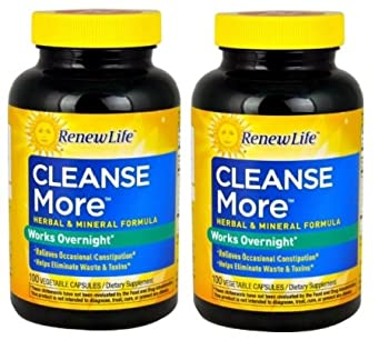 Renew Life - Cleanse More 100 Caps  Set of 2