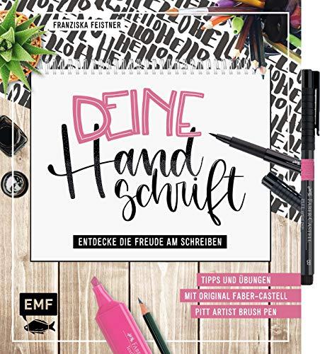 Deine Handschrift – Entdecke die Freude am Schreiben: Tipps und Übungen vom Einkaufszettel bis zum Handlettering: Mit original Faber-Castell Pitt Artist Brush Pen