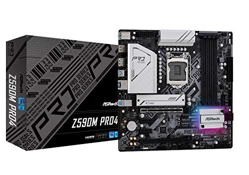 ASROCK Z590M PRO4 MATX Intel Z590 DDR4 S1200 Retail