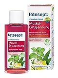 tetesept Muskel Entspannung - Revitalisierendes und wohltuendes Gesundheitsbad mit 4 ätherischen Ölen - Badekonzentrat zur Muskellockerung, 2er Pack (2x 125 ml)