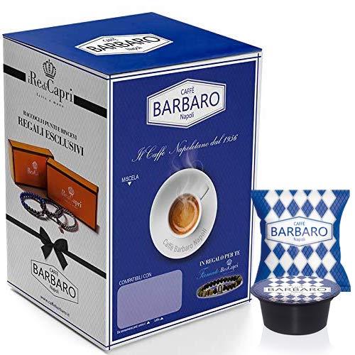 CAFFE' BARBARO Napoli Compatibile Lavazza Firma Napoli Miscela Blu - 80 Capsule