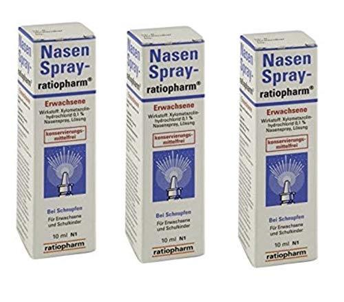 Nasenspray ratiopharm -  5 Packungen