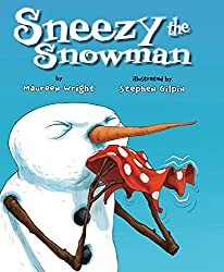 Sneezy the Snowman Children's Book