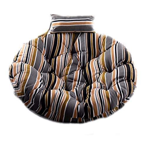 Zhenwo Hanging Basket Swing Chair Cushions, Pads Hanging Chair Rattan Patio Garden Seat Cushion for Bedrooms, Terrace, Garden,3