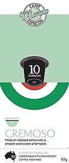 Caffe' Mondo Crema Capsules 10 Box