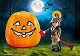 PLAYMOBIL Calabaza de Halloween - Bruja 9894 - Viene En Bolsita Desde Fábrica