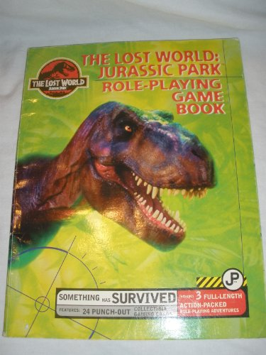 'the Lost World: Jurassic Park' - Role-Playing Game Book