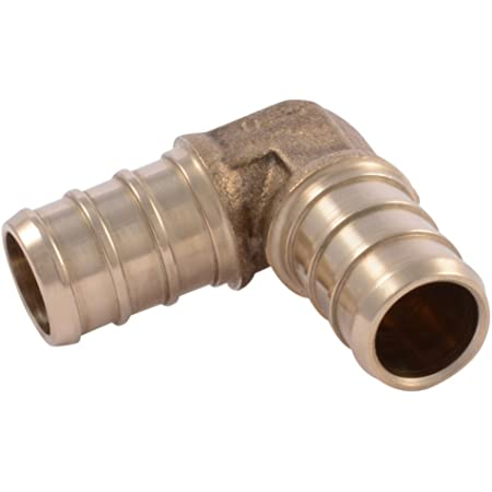 "10  Radiant Tech Brass Pex Tee Drain Valves 1//2/"" x 1//2″ x 1//8″ Compression T7510"