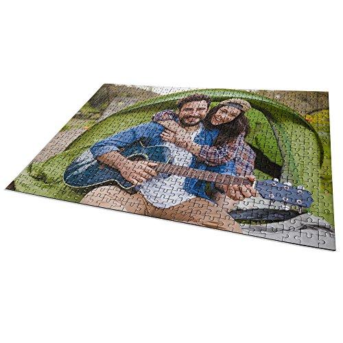 Puzzle Personalizzato con Foto. Personalizza con la Tua Foto. Cartone Puzzle Lucido. Varie Dimensioni. 500 Pezzi