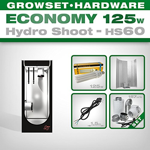 ESL Grow Set 125 W Hydro Shoot HS60 Economy