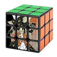 スピードキューブ 3x3 キューブ 魔方 立体パズル グレムリン ギズモ キューブパズル マジックキューブ 室内遊び 室内ゲーム 回転スムーズ トレ ストレス解消 知育玩具 入門 プレゼント プリント 脳トレ ポンプ防止