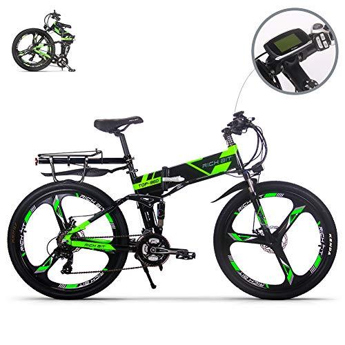 eBike_RICHBIT RLH-860 bicicleta eléctrica bicicleta de montaña plegable MTB e bicicleta 36V...