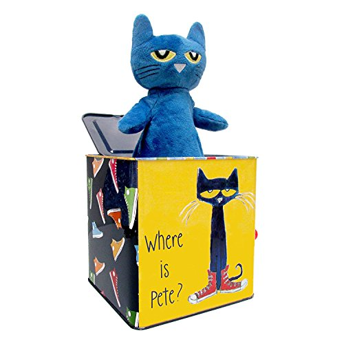 Product Image of the Pete The Cat Jack-in-The-Box - Musical Toy for Babies