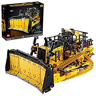 LEGO 42131 Technic App-Controlled Cat D11 Bulldozer Building Set for Adults, Remote Control Construction Motor Vehicle (B08WWZG8T3) | Amazon price tracker / tracking, Amazon price history charts, Amazon price watches, Amazon price drop alerts