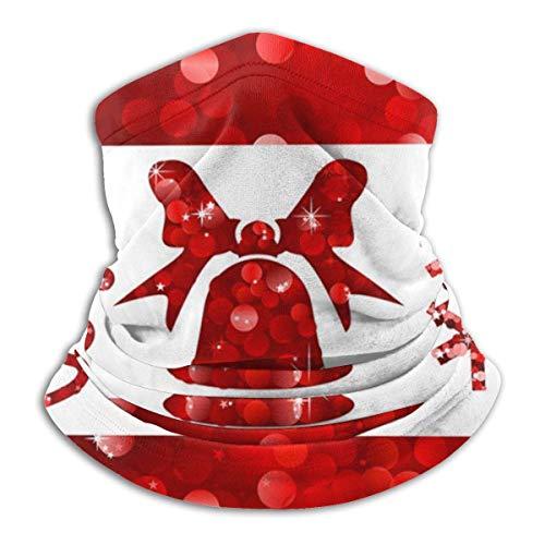 Randy-Shop Kerstkostuum met pailletten, zacht, rood
