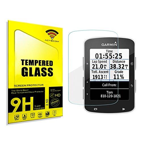 actecom® Protector Pantalla para Garmin Edge 520 Cristal Vidrio Templado
