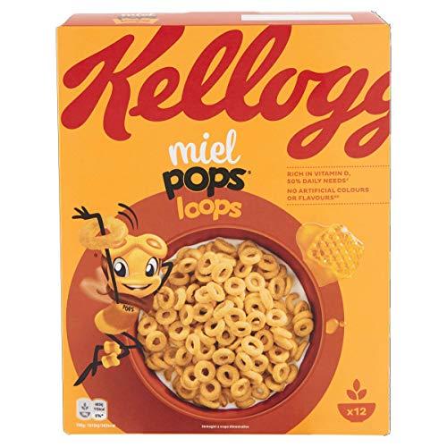 Kellogg'S Miele Pops, 0.375kg
