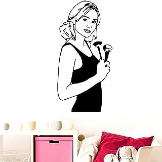 JXFM Personalización 3D de Bricolaje 104x212cm Classic Sexy Girl salón de Belleza Pegatina Accesorios de decoración Autoad...