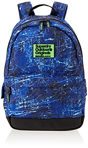 Superdry – Marble Montana, Mochilas Hombre, Azul