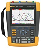 Fluke 190-204/AM 4 Channel LCD Color ScopeMeter Oscilloscope, 200 MHz Bandwidth, 1.7ns Rise time