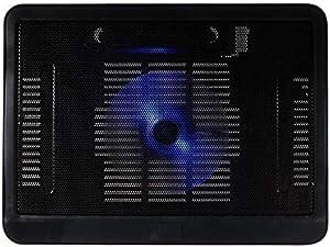 مبرد الكمبيوتر المحمول تبريد الوسادة كمبيوتر محمول N19 قاعدة هادئة للغاية مروحة كبيرة USB حامل لـ 10-15.6