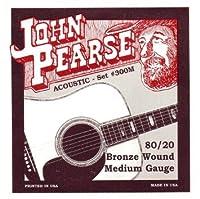 JOHN PEARSE 300M 80/20ブロンズ Medium(13-56) ジョンピアーズ アコースティック弦 【国内正規品】