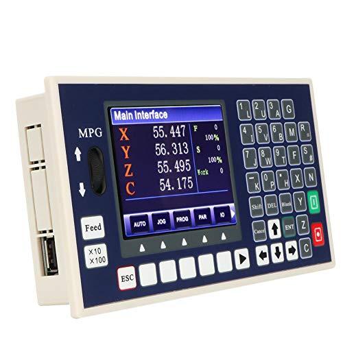4-Achsen-400-kHz-CNC-Offline-Controller, Eigenständige Verbindung Motion Controller-System PLC-G-Code-Servo- / Schrittmotorsteuerung für CNC-Fräser-Gravierfräsmaschine