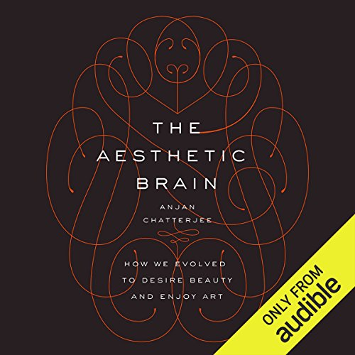 The Aesthetic Brain audiobook cover art