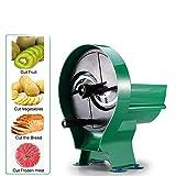 LWQ Multifunktionsfruchtgemüsehobel, Shredder Manuelle Kartoffel-Gurken Zitrone Peeler Chopper Cutter Küchenhelfer 0.8-8mm