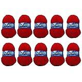 Distrifil - 10 pelotes de laine à tricoter Distrifil AZURITE 0156 pas cher 100% acrylique - 0156