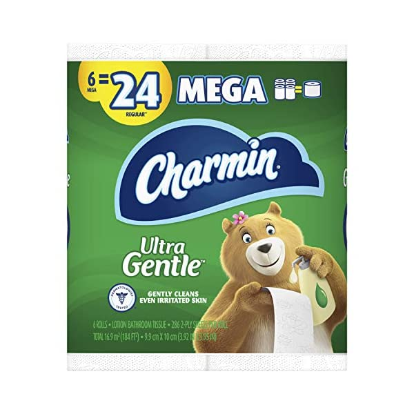 Charmin Ultra Gentle Toilet Paper 36 Mega Rolls