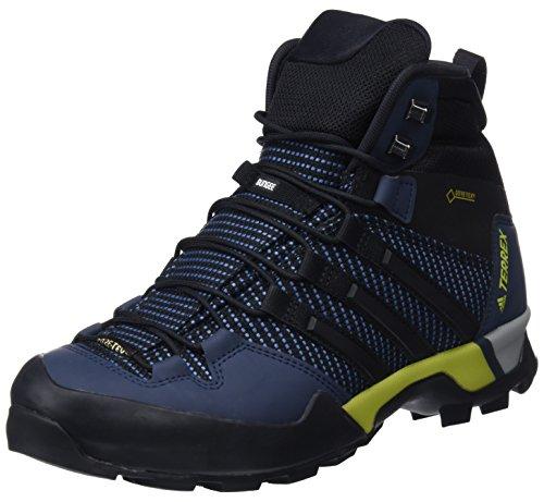 adidas Herren Terrex Scope HIGH G Trekking- & Wanderstiefel, Blau (Azubas/Negbas/Maruni 000), 42 2/3 EU