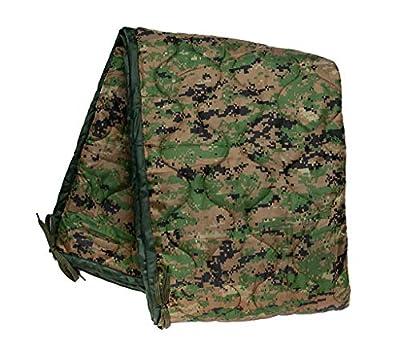 Acme Approved Military Grade Poncho Liner Blanket - Woobie (Marpat-Woodland Digital)